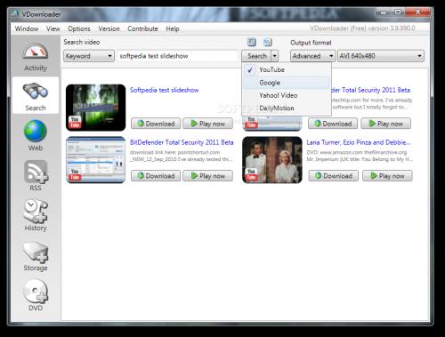 برنامج VDownloader 3.9.990.0 مشاركة الفيديو